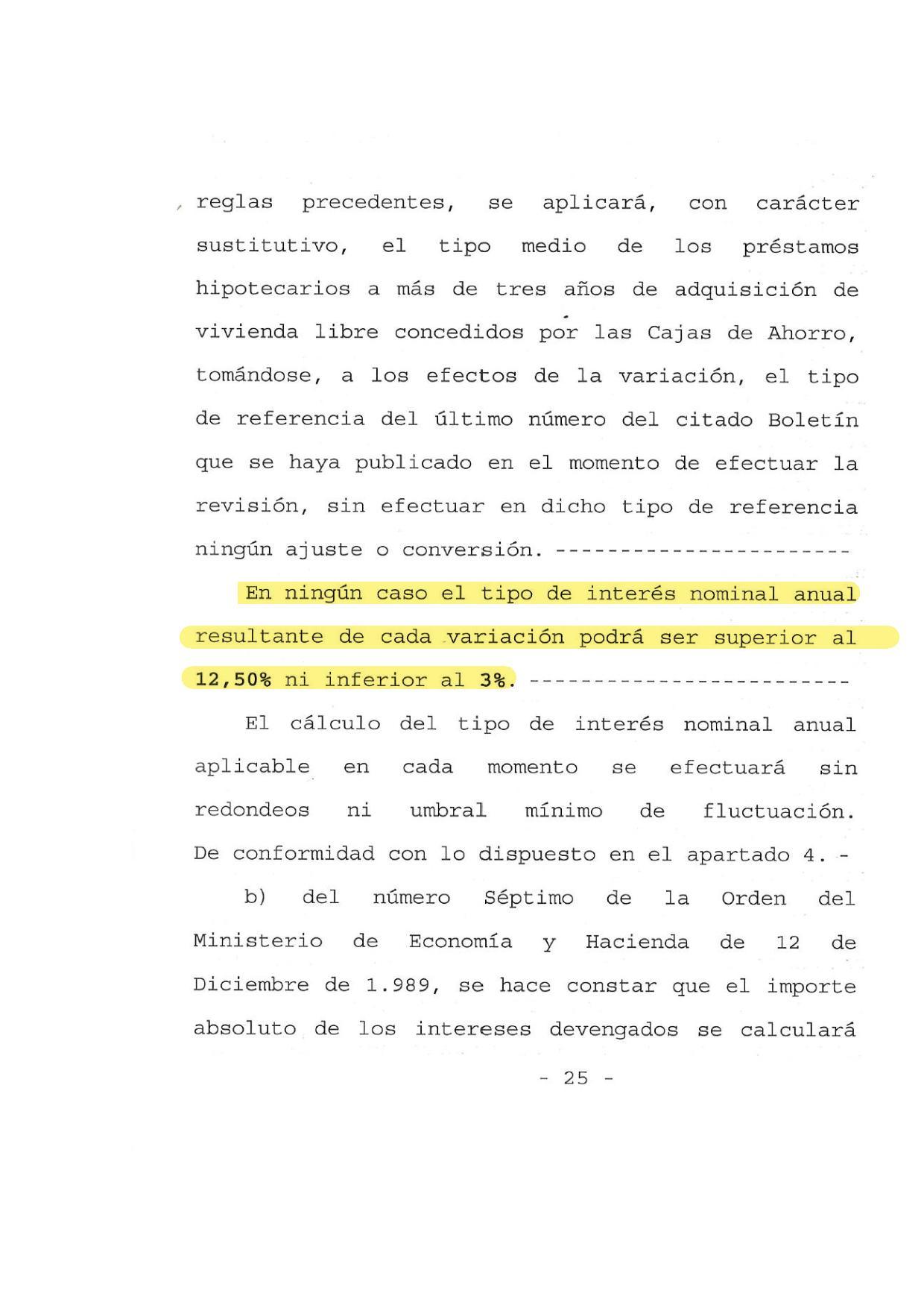 C mo saber si una hipoteca tiene cl usula suelo lorenzo for Reclamacion hipoteca suelo